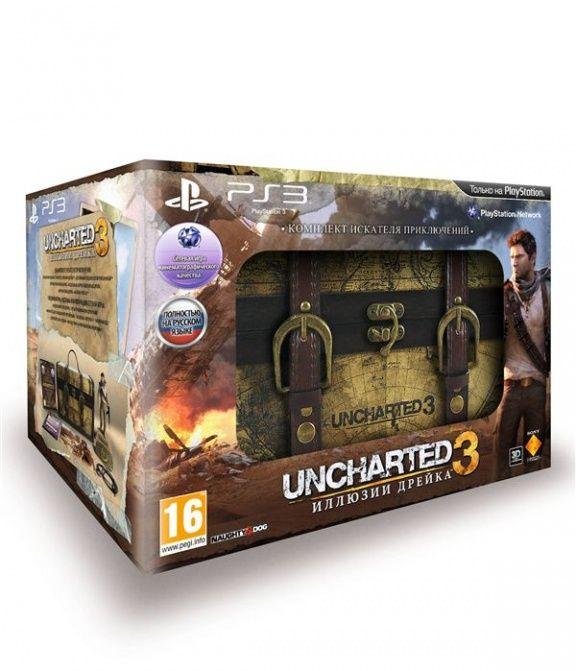 Купить игру uncharted 3 иллюзии дрейка ps3