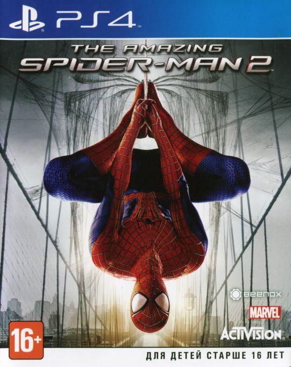 Скачать игру новый человек паук для ps4